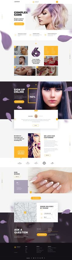 AMBER | 10 n 1| Universal PSD-Template by WatermelonDesign | ThemeForest Web Design Examples, Creative Web Design, Web Design Trends, Site Inspiration, Minimal Web Design, Modern Design, Graphic Design, Site Vitrine, Identity