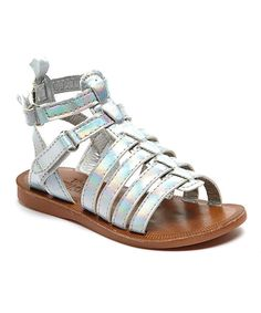 Look at this Silver Milly Sandal on #zulily today!
