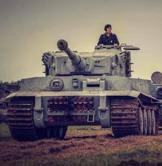 Panzer attack, by a Tiger tank, WWII. German Soldiers Ww2, German Army, Germany Ww2, Tiger Ii, Military Armor, Tiger Tank, Ww2 Tanks, World Of Tanks, Battle Tank