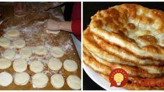 Starý recept po prababičke, ktorý vás vyjde na pár drobných: Žobrácke lokše na kyslom mlieku, výborné aj ako náhrada chlebíka! Czech Recipes, Kefir, Apple Pie, Buffet, Pancakes, Treats, Breakfast, Desserts, Food
