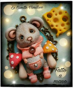 Mouse fimo polymer clay