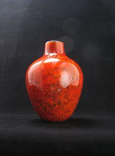 Handblown Glass Vase from Avolie Glass