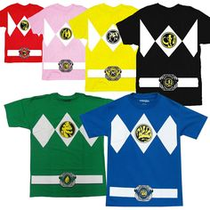 If you've ever dreamed of becoming a Mighty Morphin Power Ranger or at least dressing up like one for Halloween now you have the chance.  Whether you wanna summon up the Dragonzord with your Dragon D