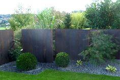 Bildergebnis Für Sichtschutz Im Garten Sichtschutzwand Garten, Garten  Terrasse, Holz Im Garten, Sichtschutz