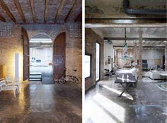 Amazing Warehouse conversion in Barcelona | HomeDSGN, a daily source for inspiration and fresh ideas on interior design and home decoration.