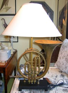 French horn lamp. What the hell? Need I comment more?