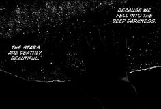 stars, Darkness, and manga image