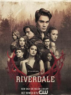 Riverdale - poster to the series with a lot of suction. - Netflix - Alles, was Du wissen musst! Riverdale Movie, Memes Riverdale, Riverdale 2017, Riverdale Poster, Riverdale Cast, Riverdale Netflix, Watch Riverdale, Riverdale Archie, Luke Perry