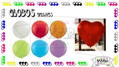 Nueva línea de #globosgigantes Pide nuestro catálogo completo hay una gran variedad de colores #etcmx #party #fiesta #decoración #balloon #globos https://www.facebook.com/ETCMX