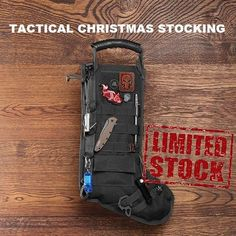 Limited Supply!  Tactical Christmas Stocking!