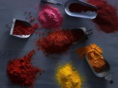 The Best Spice Mixes- And How To Use Them:  Thai Curry Powder, Garam Masala, Tandoori Masala, Colombo Powder, Quatre Epices, Berbere, Za'atar, Five Spice, Lavender Salt,