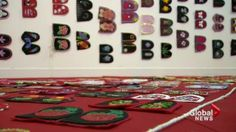 Exhibit honours missing and murdered indigenous women Art Textile, Love Art, Nativity, Sisters, Walking, Kids Rugs, Exhibit, Create, Holiday Decor