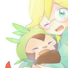 Clemont and Chespin