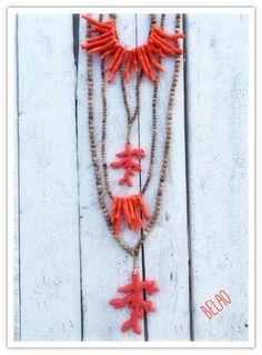 Collar Belao coral