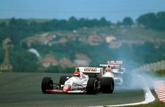 Eddie Cheever (Arrows-Ford) Grand Prix de Hongrie - Hungaroring 1989
