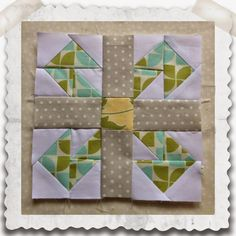 Threadbare Creations: Chatelaine- Free BOW Sampler Quilt Block 11