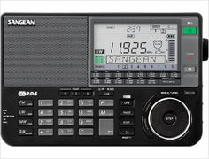 Sangean Europe » World Band Radios » ATS-909X w: FM-RDS / MW / LW / SW PLL Synthesized Receiver