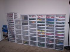 ...oh in the perfect world...evey lego would have its own special space ~ In its own special place...:-)