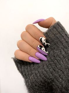 Edgy Nails, Grunge Nails, Funky Nails, Stylish Nails, Trendy Nails, Swag Nails, Nagellack Design, Nagellack Trends, Halloween Acrylic Nails