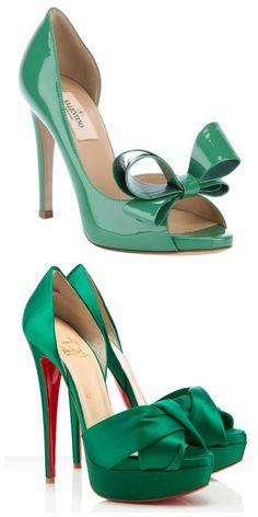 Color Me Emerald emmy green heels 7729 |Green Heels|