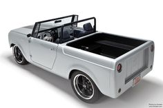 1962 International Scout 80 Corvette engine producing just over 400 ft. of torque. The got mated up to a transmission, controlled by a Compushift controller, and Twist Machine. Hot Rod Trucks, New Trucks, Custom Trucks, Cool Trucks, Chevy Trucks, Custom Cars, Chevy Pickups, International Harvester Truck, International Scout