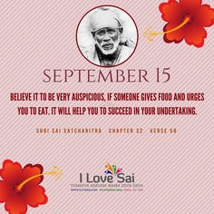 Please share: By Baba's grace, Team I Love Sai has introduced this Baba's calendar. The message in this is directly from Shri Sai Satcharitra. We urge you to please share this and spread Baba's message. Thank you in advance. Sai Baba Pictures, God Pictures, Sai Baba Quotes, Om Sai Ram, Children In Need, Believe, Lord, Faith, Messages