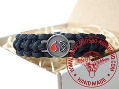 ARMBAND BLUTGRUPPE B RH - / BRACELET BLOOD TYPE B RH - Belt, Bracelets, Blood, Accessories, Wristlets, Belts, Bracelet, Arm Bracelets, Bangle