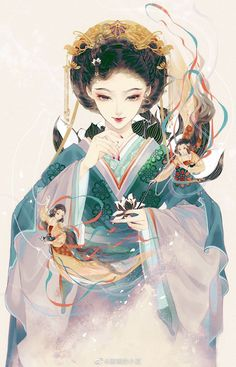 High-rated fantasy books to free read on Chinese Picture, Chinese Drawings, China Art, Human Art, Cultural, Fantasy Girl, Character Design Inspiration, Anime Art Girl, Illustrations And Posters