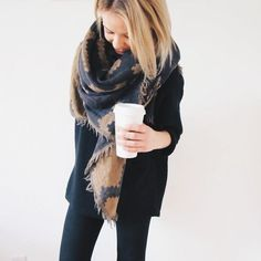 Wilfred scarf from Aritzia. Fall Winter Outfits, Autumn Winter Fashion, Mode Outfits, Fashion Outfits, Lookbook, Fall Fashion Trends, Passion For Fashion, Dress To Impress, Casual