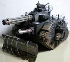 Custom, Imperial Guard, Leman Russ, Punisher - Gallery - DakkaDakka | Play like you've got a pair of Dakkas.