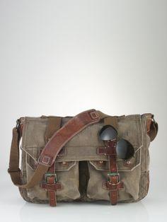 Explorer Messenger Bag - Polo Ralph Lauren Bags & Business - RalphLauren.com