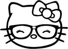 Billedresultat for Hello Kitty Coloring Pages