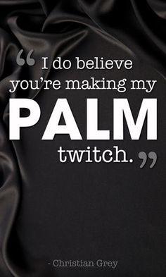 Making My Palm Twitch