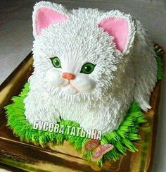 You are in the right place about birthday cake mujer Here we offer you the most beautiful pictures about the birthday cake strawberry you are looking for. When you examine the part of the picture you Birthday Cake For Cat, Themed Birthday Cakes, Fancy Cakes, Cute Cakes, Dog Cakes, Cupcake Cakes, Kitten Cake, Animal Cakes, Cat Party