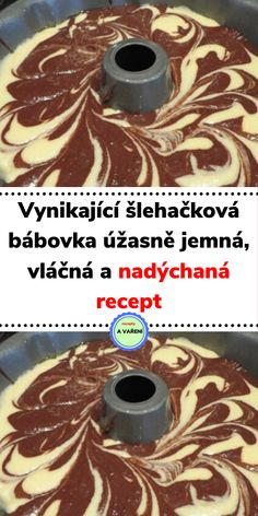 Sweet Desserts, Sweet Recipes, Keto Recipes, Czech Recipes, Good Mood, Recipe Box, Bakery, Food And Drink, Cooking