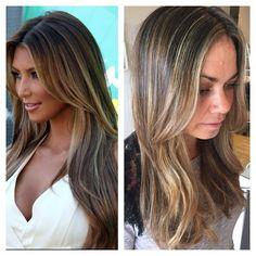 We love it when u bring in your pics ❤️ #highlights #hair #blonde #nofilter @kimkardashian @snowbysamanthasnow