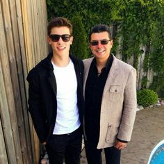 Shawn Mendes and his father