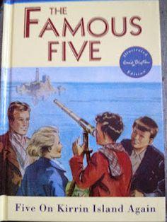 Five On Kirrin Island Again By Enid Blyton Hodder Children's Books, 2009 Childrens Book Shelves, Childrens Books, Enid Blyton Books, The Famous Five, Child Life, Books To Read, Fiction, Childhood, Parenting