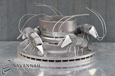 STC Scrap Sculptures 2013 - Shrimp Bowl (overall view)