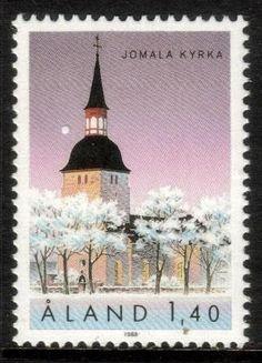 ALAND 1988 SG35 JOMALA CHURCH