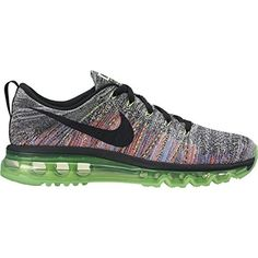 5ded26599ff Nike Womens Wmns Flyknit Max WHITEBLACKGHOST GREEN 8 US -- Check out the  image by