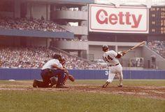 Jackson bats at Yankee Stadium, July 1979.