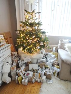 Turned to Design: Christmas Wrapping {Now Unwrapped}