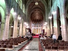St Johns Anglican Cathedral in Brisbane St Johns Anglican Cathedral Brisbane...Morning Eucharist