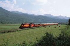 Smoky Mountain Train...Mike and I are thinking of going on this.  $53 for a 4.5 hour train ride through the smokies!