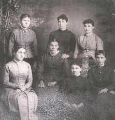 7 DAUGHTERS OF MY GREAT-GREAT-GRANDPARENTS  JOHN HENRY OWEN & MARY YOUNG