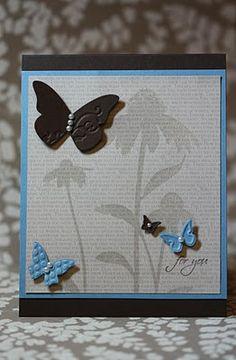 Butterflies & shadow flowers