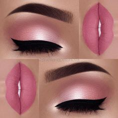 I absolutely LOVE pink makeup! So subtle and innocent yet sexy! Very natural looking.