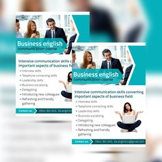 Business flayer