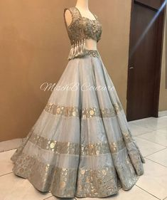 All Ethnic Customization with Hand Embroidery & beautiful Zardosi Art by Expert & Experienced Artist That reflect in Blouse , Lehenga & Sarees Designer creativity that will sunshine You & your Party Worldwide Delivery. Indian Wedding Outfits, Bridal Outfits, Indian Outfits, Bridal Dresses, Designer Bridal Lehenga, Indian Bridal Lehenga, Western Lehenga, Choli Designs, Lehenga Designs